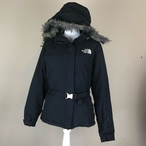 THE NORTH FACE | 550 Down Jacket Belted Fur Hood S